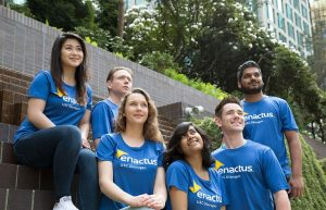 Awards for Enactus UBC Okanagan in their first-ever national competition